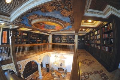 Горниот кат на книгохранителницата