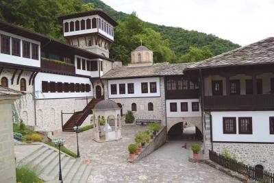 Манастирската фијала со дел од конаците