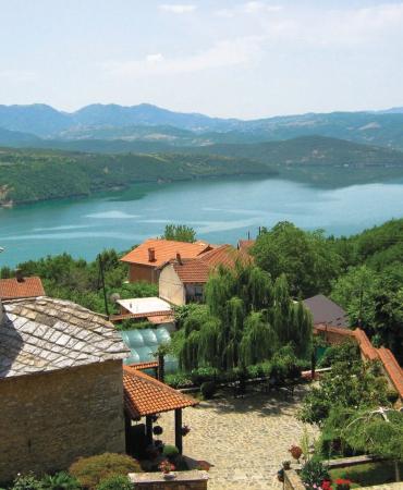 Панорама на манастирот во Рајчица