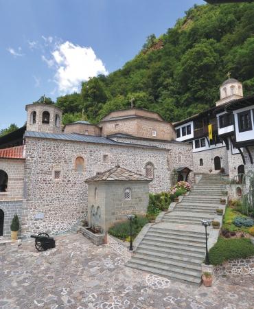 Бигорскиот храм со дел од Источни палат