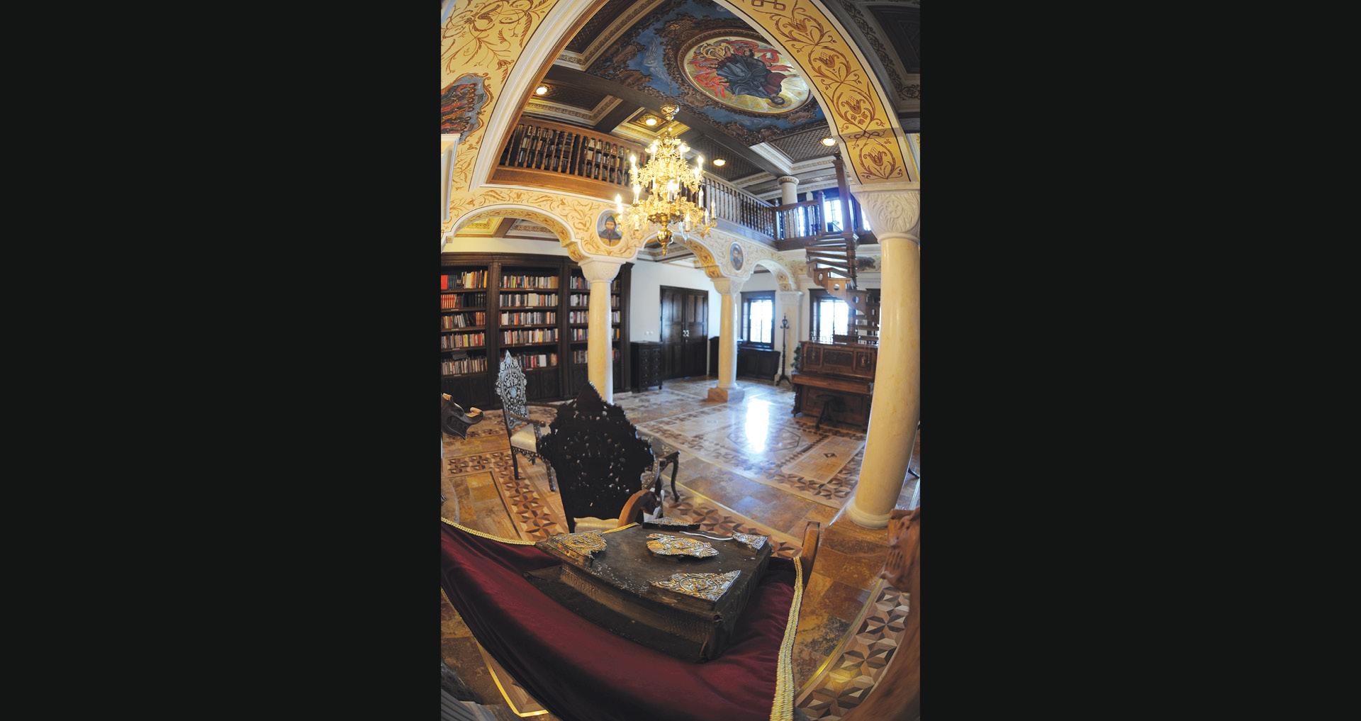 Долниот кат на книгохранителницата