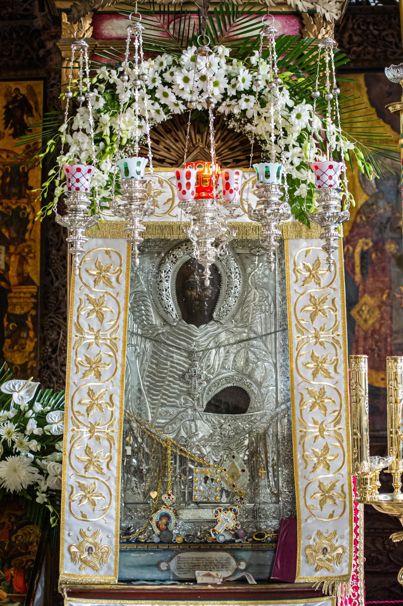 Чудотворна икона на Св. Јован Крстител