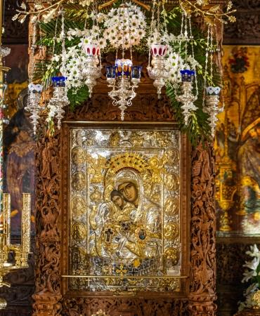 """Чудотворна икона Пресвета Богородица """"Достојно ест"""""""