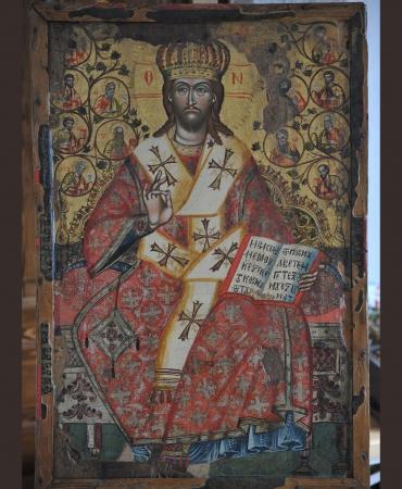 Христос на трон
